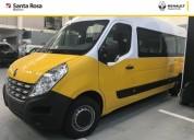 Renault master vidriada c aa 2017 0km en montevideo