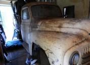 Unica camioneta international todo original ano 1952 a reparar 111111 kms