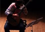 clases particulares de guitarra a domicilio a convenir en montevideo