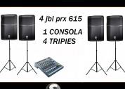 Equipos de sonido jbl para dj en punta del este