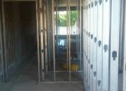 Revestimientos en casas, containers