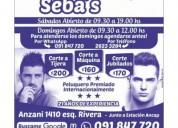 Peluquería seba's whatsapp  091847720