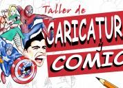 Taller de caricaturas y cómics