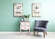 Compro muebles de estilo y antiguedades. montevideo.