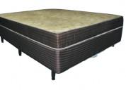 Somier y colchon alta densidad  140x190      clp