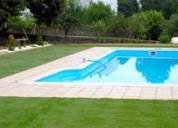 Trabajos de sanitaria y piscina