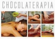Masajes con chocolaterapia