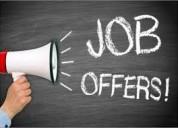 Oportunidad de trabajo en el extranjero (*(