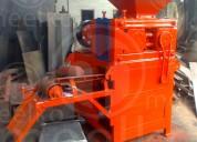 Prensa para hacer carbon en briquetas 8 toneladas