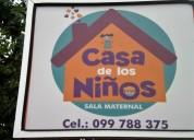 Casa maternal para atencion de niÑos pequeÑos