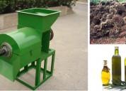 Prensa de aceite para palma africana 300 - 500 kg