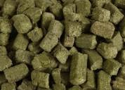 Maquina Meelko  para pellets con madera 120 mm die