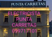 Electricista pocitos 099717101 urgencias