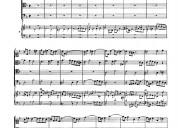 Partituras piano / clave / canto - varias