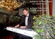 Alquiler de piano digital