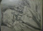 Dibujos a lápiz en papel