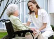 Acompaño y cuido a personas mayores y niños .