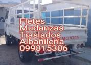 Fletes mudanzas traslados 099815306.