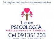 Licenciada en psicologia (psicologa)