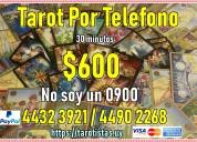 Tarot consulta por telefono $600 no soy 0900