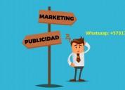 Se busca personal para marketing y publicidad