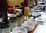 Miel, propoleos con miel, apitoxina