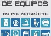 Venta y reparación de equipos.insumos informáticos