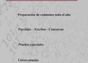 MatemÁtica - exÁmenes - cursos - ciudad vieja