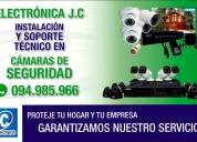 Servicio profesional tÉcnico cÁmaras seguridad