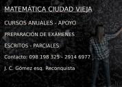 MatemÁtica - exÁmenes - ciudad vieja