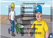 Servicio profesional construcción en general.