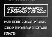 Service informático│a domicilio y en local