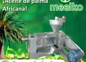 Prensa de aceite meelko mkop165