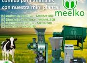Combo peletizadora meelko mkfd260b