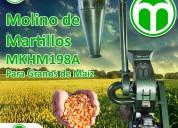 Molino de martillos meelko mkhm198a
