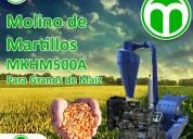 Molino de martillos meelko mkhm500a