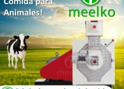 Peletizadoras anulares industriales meelko mkrd420