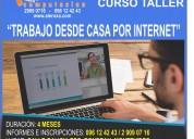 Curso taller - trabajo desde casa por internet