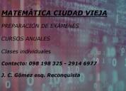 MatemÁtica - fÍsica - quÍmica  - cursos - exámenes