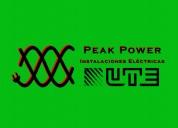 Peak power - instalaciones eléctricas