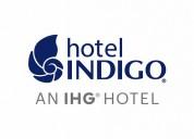 Se requiere recepcionista en el indigo hotel usa