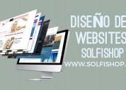 Diseños páginas web profesional desde $2500 x mes