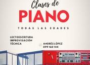 clases de piano y teclado en ciudad de la costa