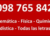 Whatsapp clases particulares video llama 098765842
