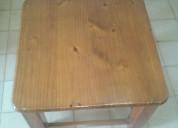 Mesa ratona en madera pino brasil