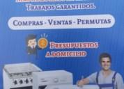 Service de la barra cocinas-lavarropas -secarropa