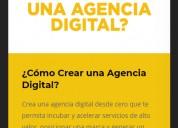 Curso online como crear una agencia digital?