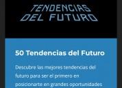 Curso online 50 tendencias del futuro