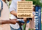 trabajos académicos (tesis, diertación, master)
