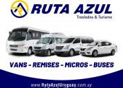 Traslados de pasajeros - personal - transfer